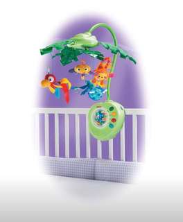 Pre-loved Fisher-Price Rainforest Peek-A-Boo Leaves Musical Mobile