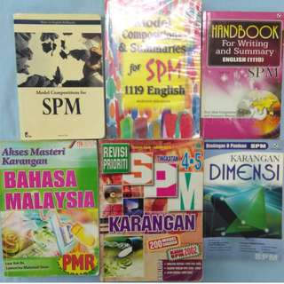 PMR / SPM Essay / Karangan Reference Books