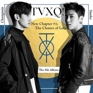 TVXQ - NEW CHAPTER 1 : THE CHANCE OF LOVE
