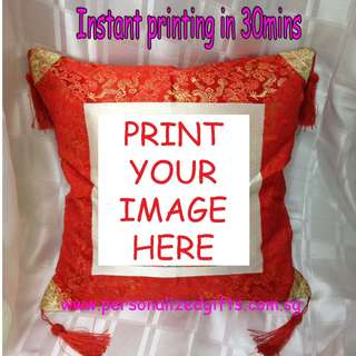 CUSTOMIZED CUSHION PILLOW,PERSONALIZED CUSHION PILLOW,CUSTOMIZED PHOTO CUSHION,CUSTOMIZED CUSHION INSTANT PRINTING IN TOWN
