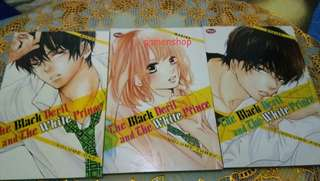 THE BLACK DEVIL AND THE WHITE PRINCE  No 1,3,4