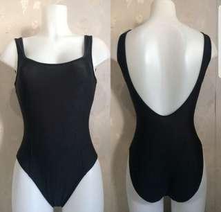 Scoop back 1pc. One piece. 1 piece. Swimsuit