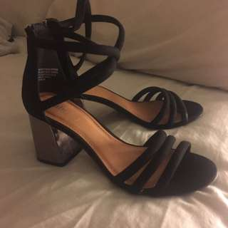 Rubi Shoes Black Heels 39