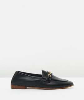 TOPSHOP Key Trim Leather Loafers