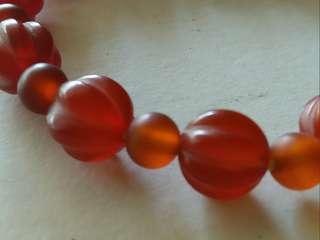 红血石水晶手串 大12小12粒 1.0