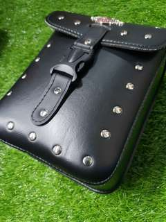 Harley dividson pouch bag for e scotters and pmds