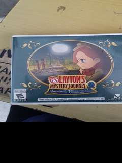 Layton's Mystery Journey - Katrielle and the Millionaire's Conspiracy (3DS)