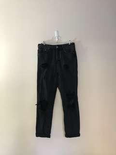Glassons Mom jeans black wash