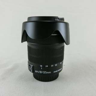 CANON EF-S 18-135mm f3.5-5.6 STM 變焦鏡頭 新版步進馬達 平輸