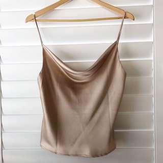 Silk cami