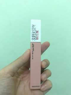 RE-PRICE Lipstick Maybelline Super Stay Matte Ink