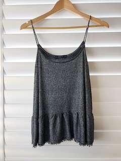 Zara glitter knit