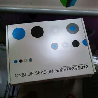 cnblue season greeting 2012 全齊