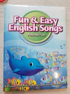 Fun and easy English songs with CD