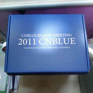 cnblue season greeting 2011 全齊