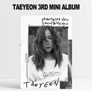 Taeyeon 3rd Mini Album: Something New