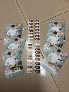 31 PCS AEON BIG NEOFLAM DE CHEF COOKWARE STICKERS STAMP