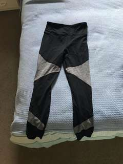 Grey Block Leggings