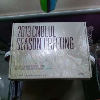 cnblue season greeting 2013 全齊