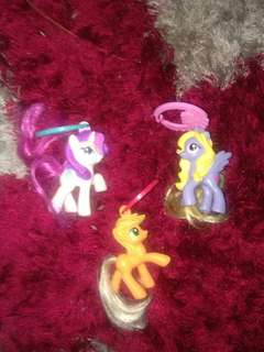 Pony bag bling