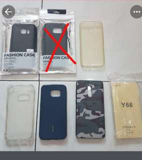 case casing sarung hp samsung vivo xiaomi s6 edge s7 flat