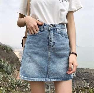 🚚 牛仔短裙