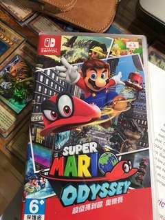 🚚 超級馬力歐 奧德賽 Nintendo switch