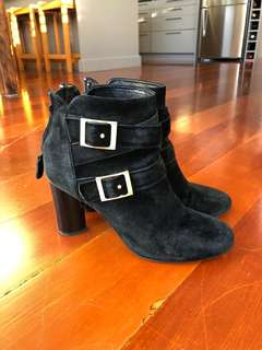 Senso suede boots