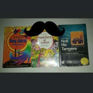 Book Bundle! Ibong Adarna Noli Me Tangere Florante at Laura