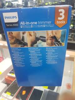 WTS: Philips Series 3000 Multigroom Trimmer