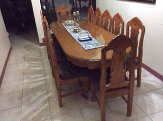 Solid Narra 12-seater Dining Set
