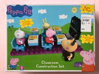 Peppa Pig Build & Play - Classroom Construction Set