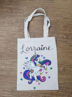 Handmade Customised Tote Bags for Kids