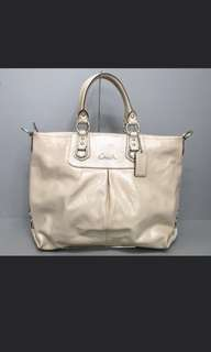 Coach Tote Patented Leather JAPAN exclusive F15453