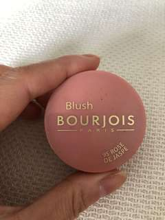 BN Bourjois little round pot blush#95 rose de jaspe