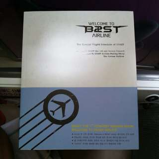 beast airline photo book with DVD highlight