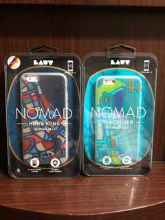 LAUT NOMAD cover for iPhone 6 6s (HK / Vancouver / Tokyo)