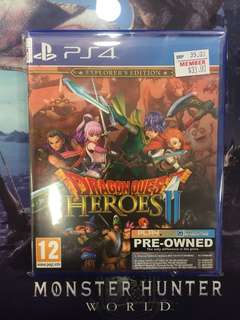 PS4 Dragon Quest Heroes 2 (Used)