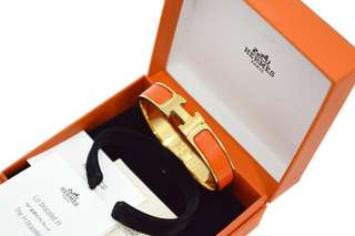 Authentic HERMES Clic H Bracelet