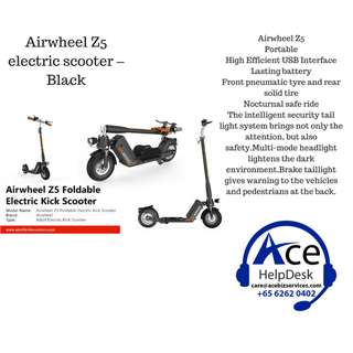 Airwheel Z5 electric scooter – Black