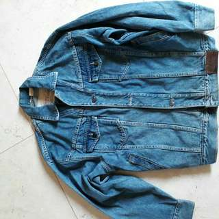 vintage denim jacket coca cola ori..th 80an