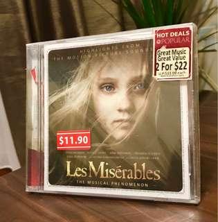 Les Miserable Soundtrack (BNIB)