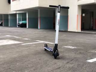 GSS SALE: eMove 7.2kg Aluminium White Electric Scooter 10.4Ah EScooter