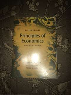 Principles of Economics by Mankiw