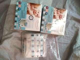 60 pieces of Autumn 7oz/210ml Breast milk storage (2 boxes + free 10 pieces)