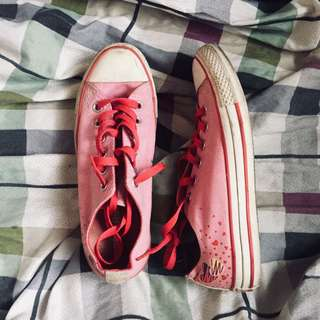 AUTHENTIC CONVERSE PINK LOWCUT