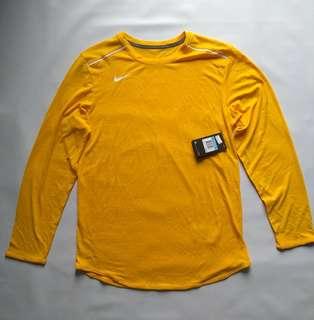 Nike Mens Elite Breathe Long Sleeve Baselayer Running Shirt
