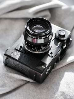 Leica CL with Jupiter-8 lens