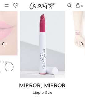 COLOURPOP Mirror mirror lippie stix