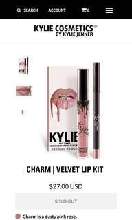 KYLIE COSMETICS charm velvet liquid lipstick